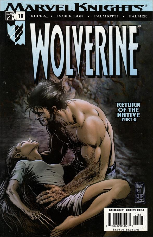 Wolverine (2003)  18-A by Marvel