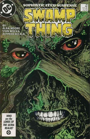 Swamp Thing (1986) 49-A by Vertigo