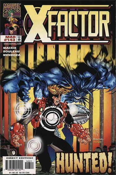 X-Factor (1986) 143-A by Marvel