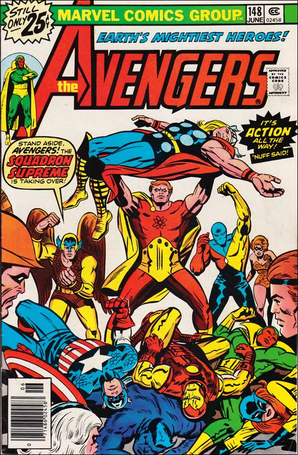 Avengers (1963) 148-A by Marvel
