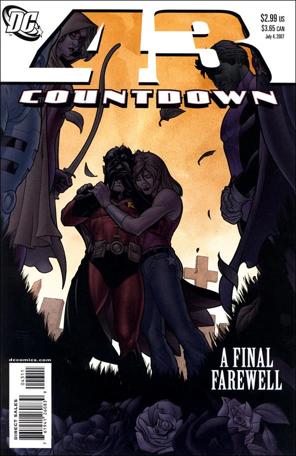 Countdown (2007) 43-A by DC