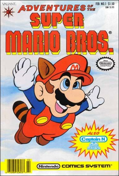 Adventures of the Super Mario Bros. 1-A by Valiant