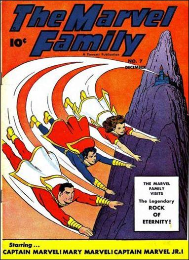 Marvel Family 7-A by Fawcett