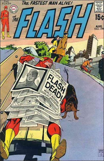 Flash (1959) 199-A by DC