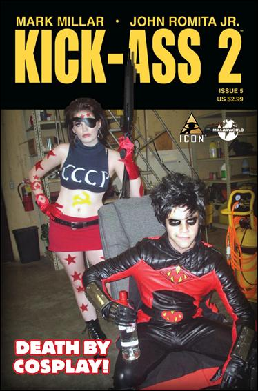 Kick-Ass 2 5-B by Icon