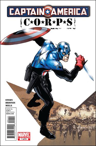 Captain America Corps 1-A by Marvel