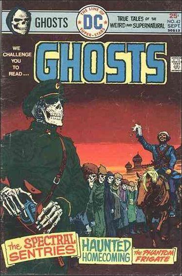 Ghosts (1971) 42-A by DC