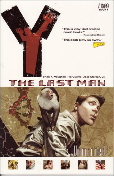 Y: The Last Man 1-A by Vertigo