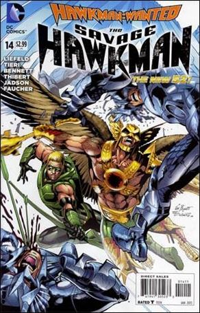 Savage Hawkman 14-A