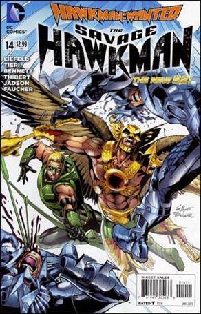 Savage Hawkman 14-A