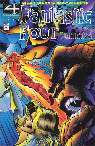 Fantastic Four Unlimited 10-A by Marvel