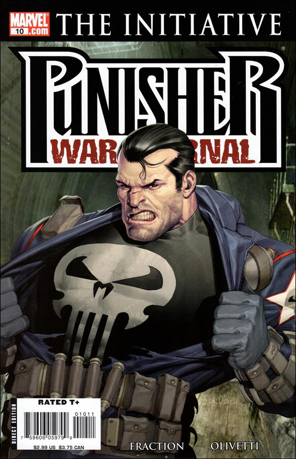 Punisher War Journal (2006) 10-A by Marvel