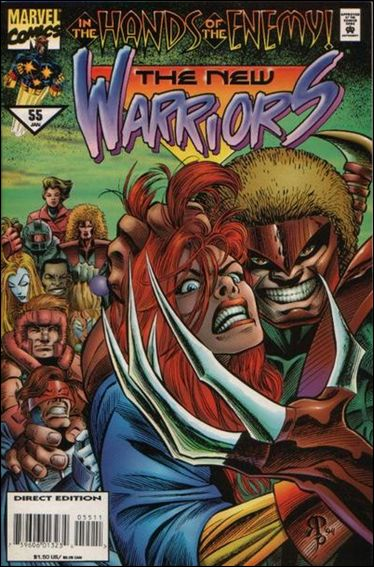 New Warriors (1990) 55-A by Marvel