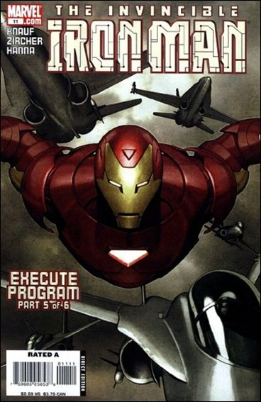Invincible Iron Man (2005) 11-A by Marvel