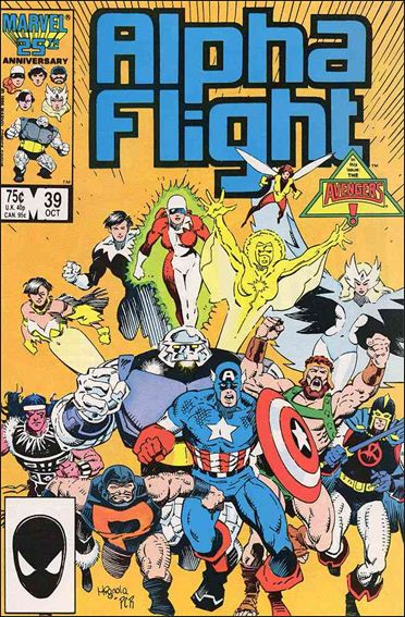 Alpha Flight (1983) 39-A by Marvel