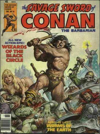 Savage Sword of Conan (1974) 16-A by Marvel