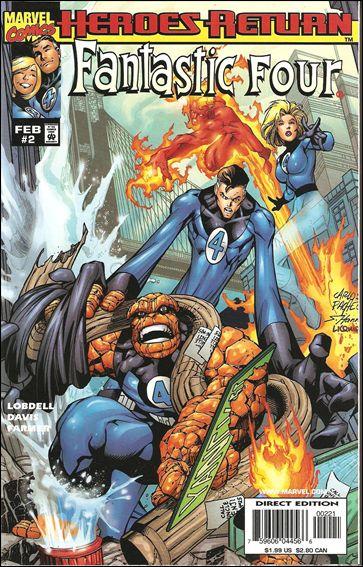 Fantastic Four (1998) 2-B by Marvel