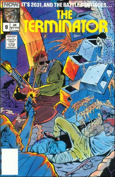 Terminator (1988) 9-A by Now Comics