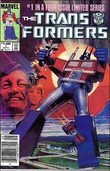 Transformers (1984) 1-B by Marvel