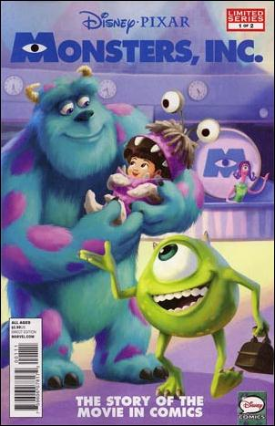 Monsters, Inc. (2013) 1-A by Marvel