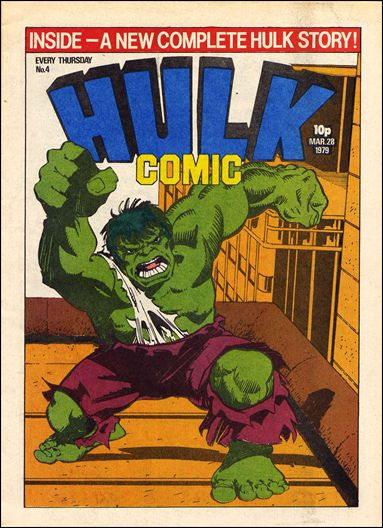 Hulk Comic (UK) 4-A by Marvel UK