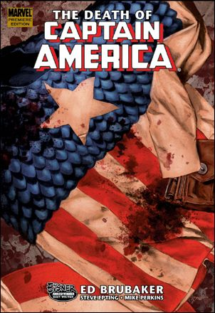 Captain America: The Death of Captain America 1-A by Marvel