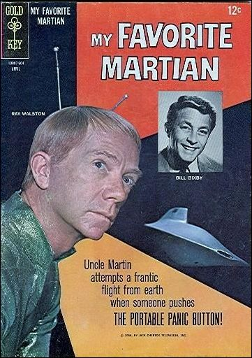 My Favorite Martian (1964) 7-A by Gold Key