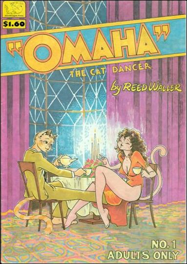 Omaha the Cat Dancer (1984) 1-A by Kitchen Sink