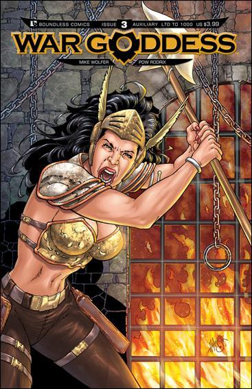 War Goddess 3-E by Boundless Comics