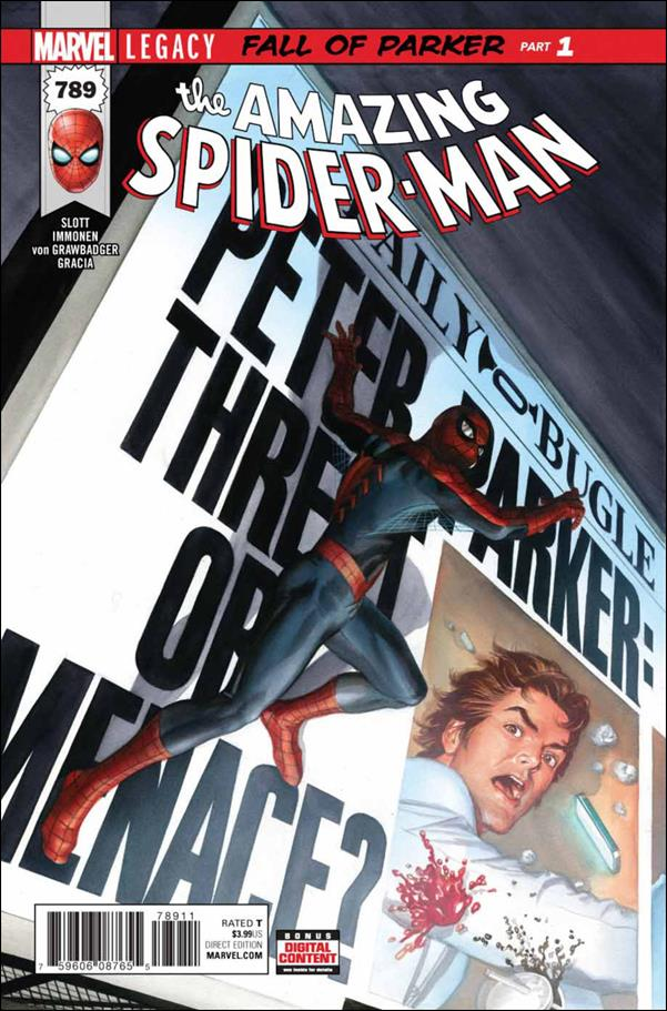 Amazing Spider-Man (1963) 789-A by Marvel