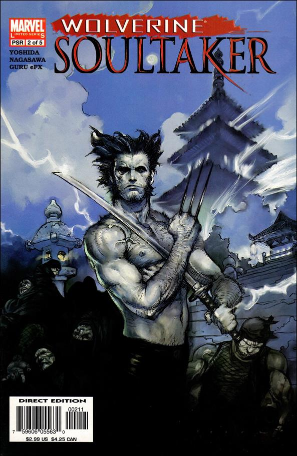 Wolverine: Soultaker 2-A by Marvel