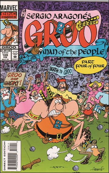 Sergio Aragones Groo the Wanderer 109-A by Epic