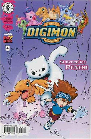 Digimon Digital Monsters 9-A by Dark Horse