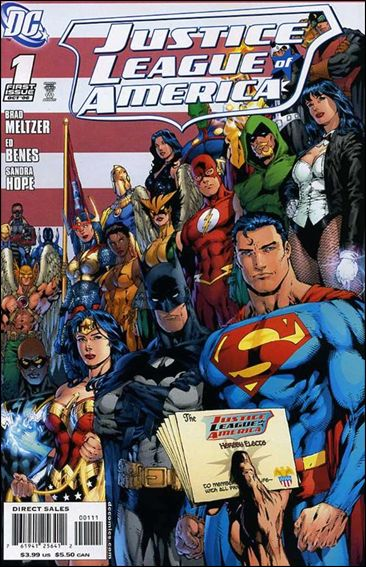 Justice League of America (2006) 1-B by DC