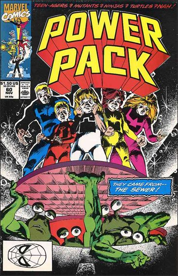 Power Pack (1984) 60-A by Marvel
