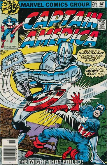 Captain America (1968) 226-A by Marvel
