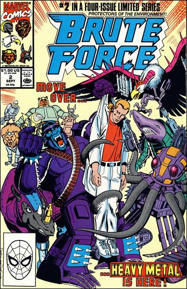 Brute Force 2-A by Marvel