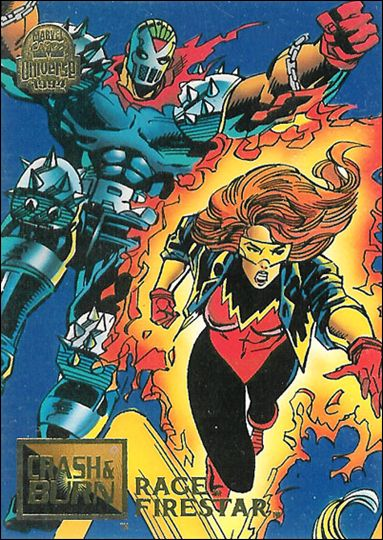 Marvel Universe: Series 5 (Base Set) 73-A by Fleer