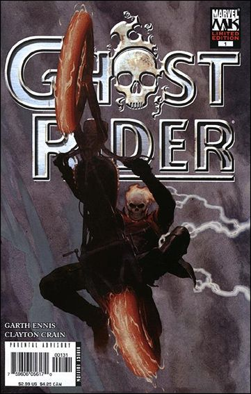 Ghost Rider (2005) 1-B by Marvel