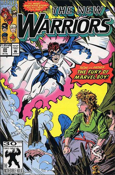New Warriors (1990) 20-A by Marvel