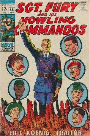 Sgt. Fury and His Howling Commandos 65-A