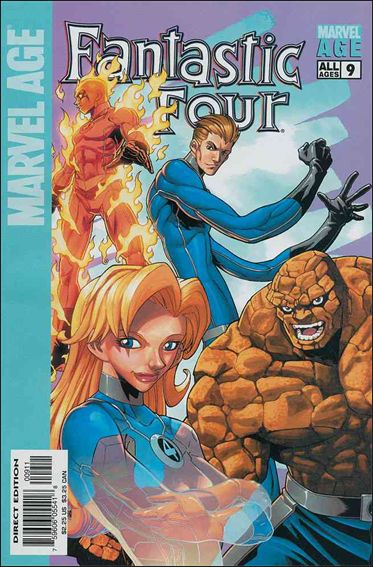 Marvel Age Fantastic Four 9-A by Marvel
