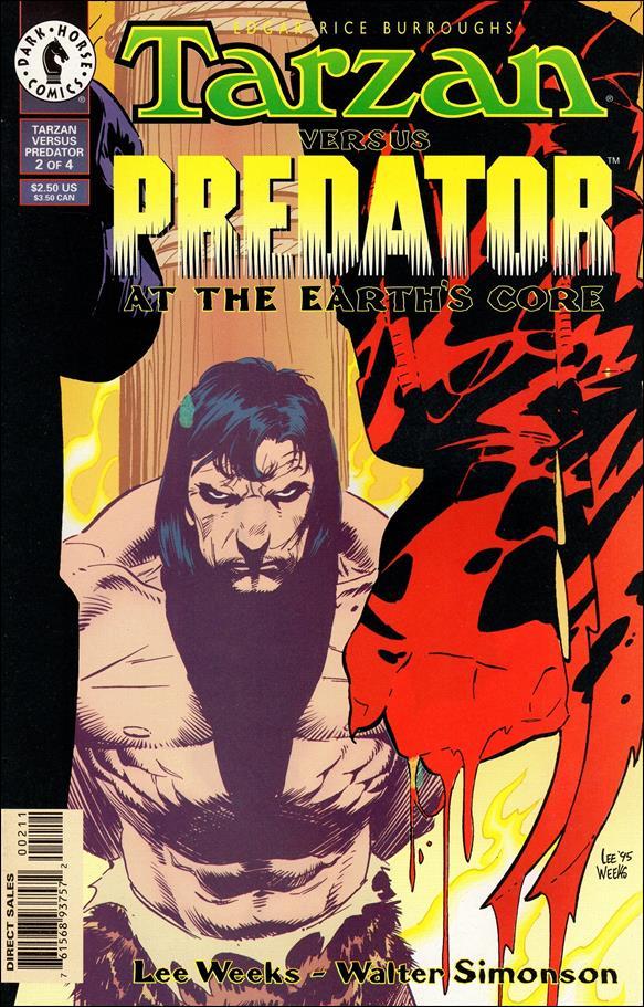 Tarzan vs Predator at the Earth's Core 2-A by Dark Horse
