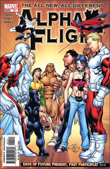 Alpha Flight (2004) 11-A by Marvel