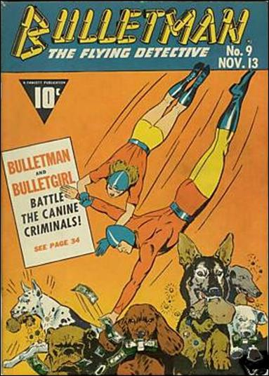 Bulletman 9-A by Fawcett