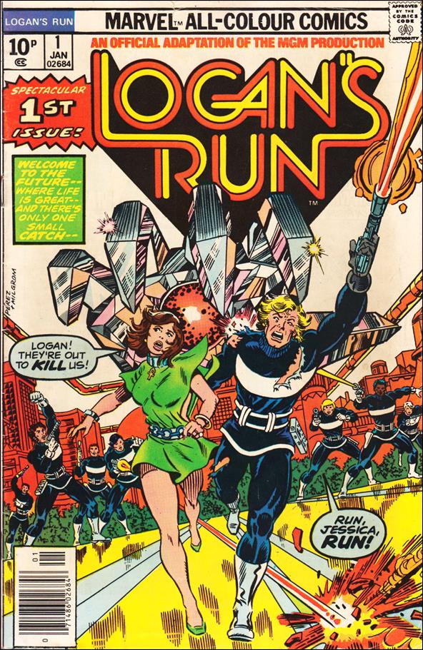 Logan's Run (1977) 1-B by Marvel