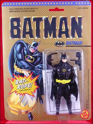 Batman (Movie) Action Figures Batman (Round Jaw) by Toy Biz