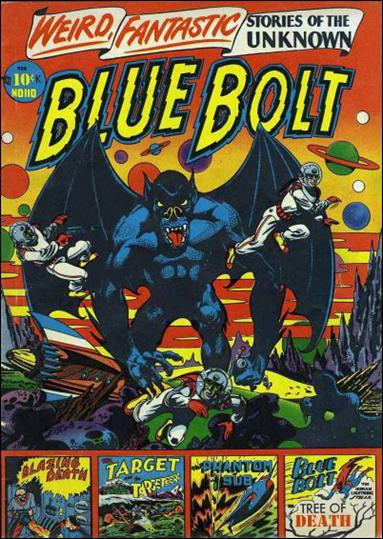 Blue Bolt Comics 110-A by Star Publications