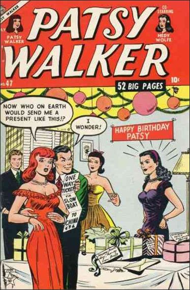 Patsy Walker 47-A by Marvel
