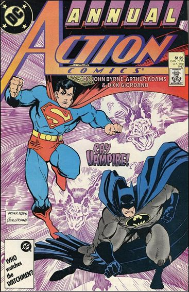 Action Comics Annual (1987) 1-A by DC